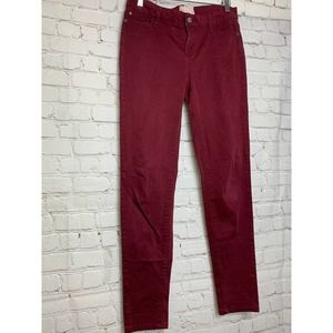 ALTERED STATE MAROON BOOT CUT PANT SZ 29 WOMENS